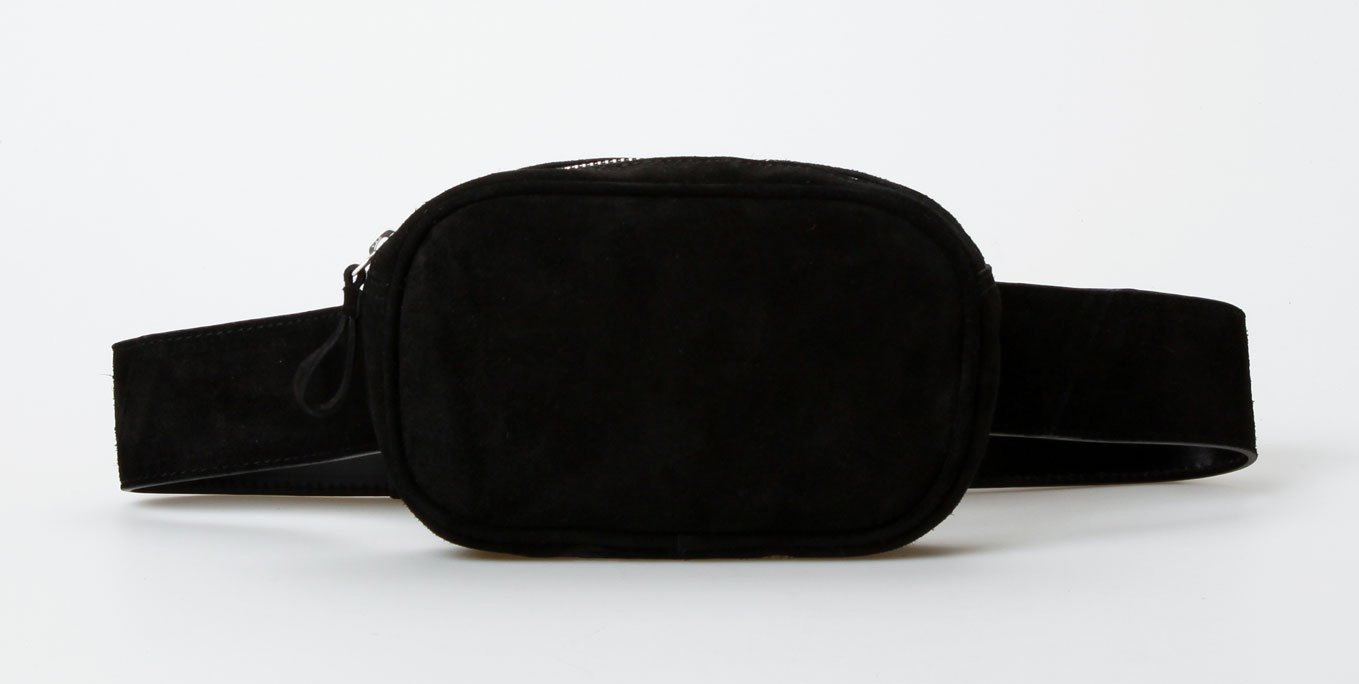 Treats Edith Suede Fanny Pack - Sort